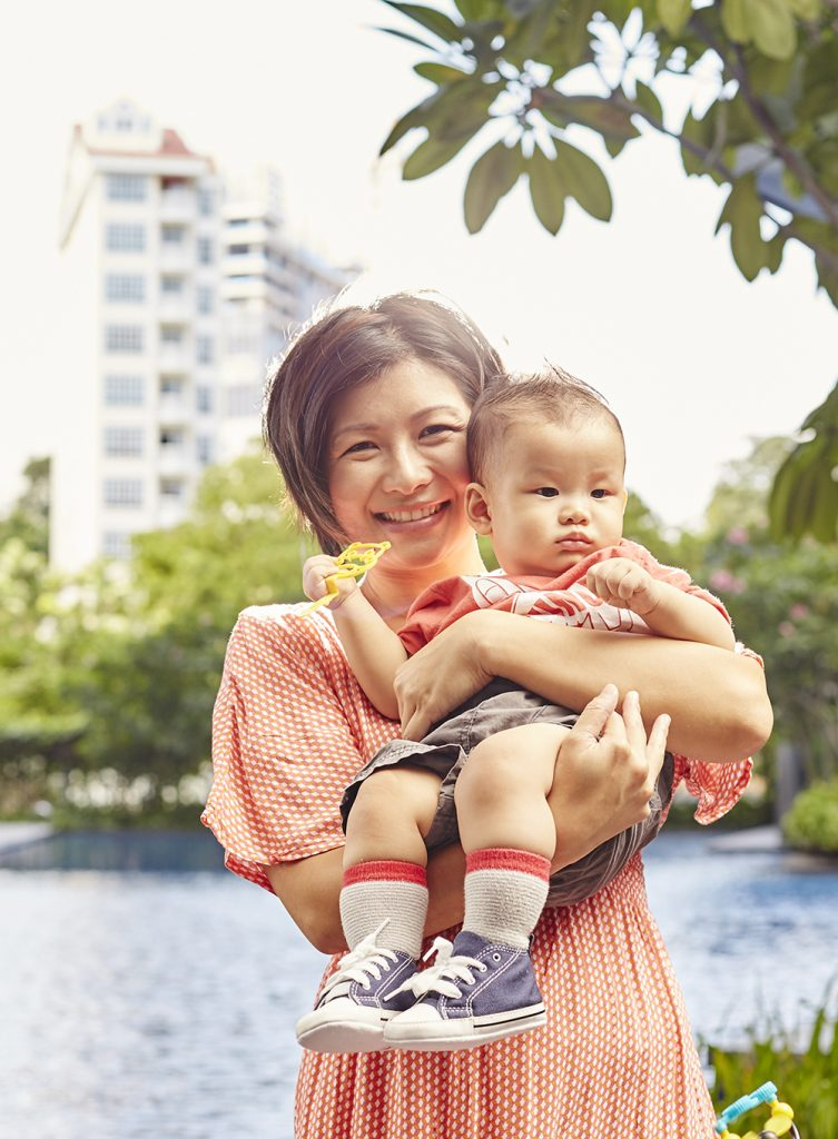 With Thomson Medical's home-care service, professional help is just a call away for breastfeeding mummies
