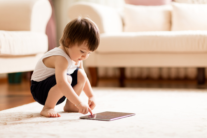 Your child's use of smartphones and tablets
