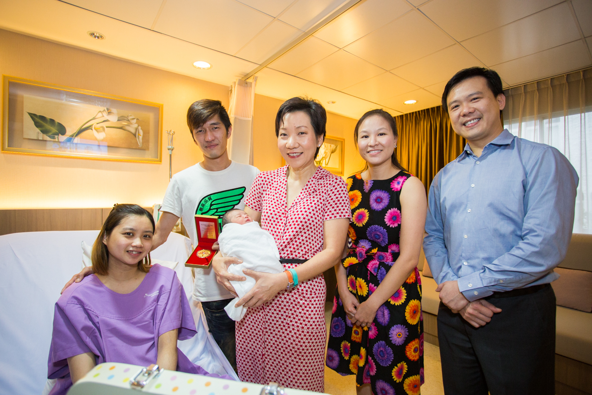 A great start to the year with Singapore's first SG50 babies
