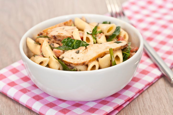 Paprika Chicken Pasta Salad