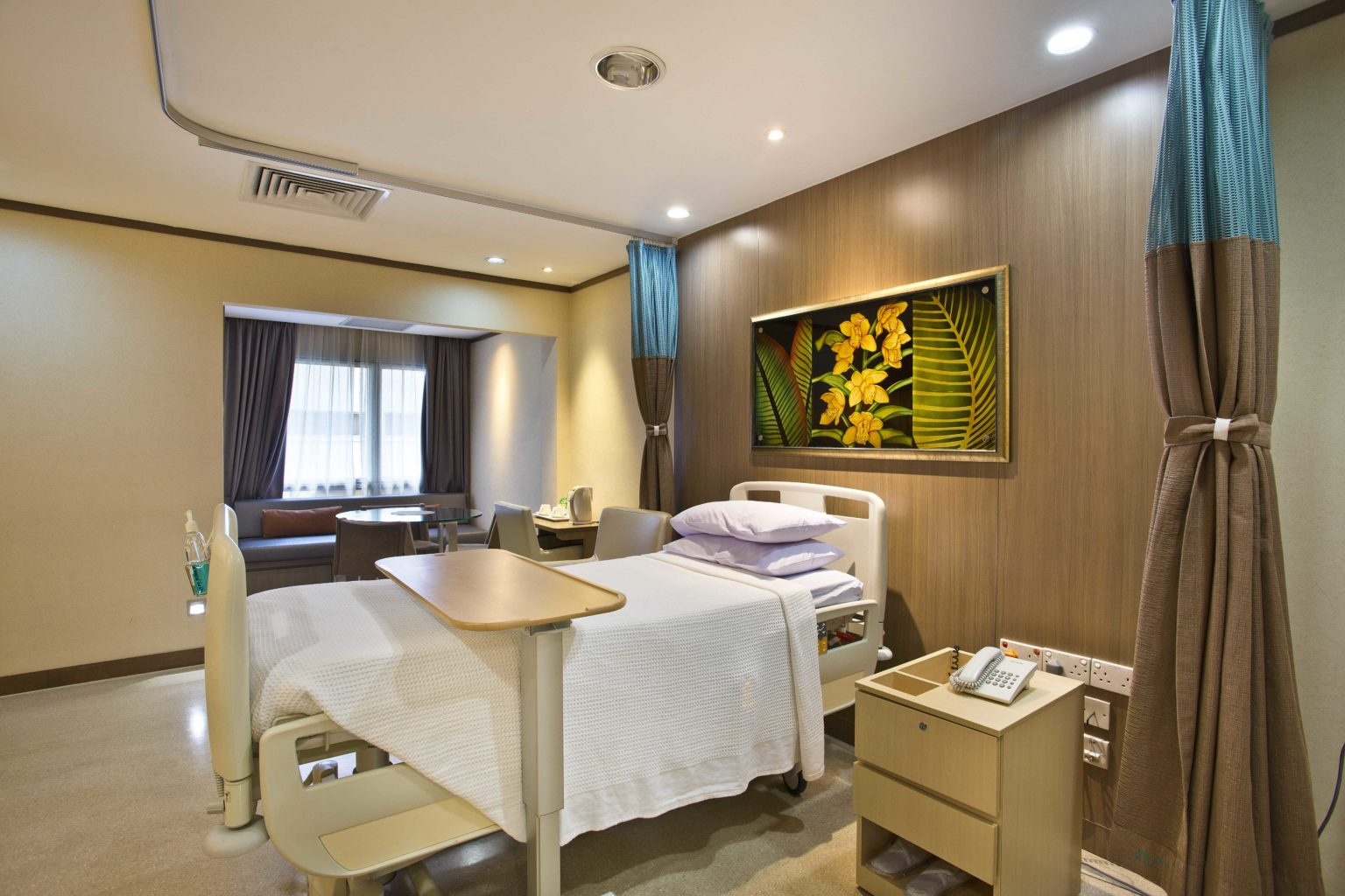 Chinese General Hospital Room Rates