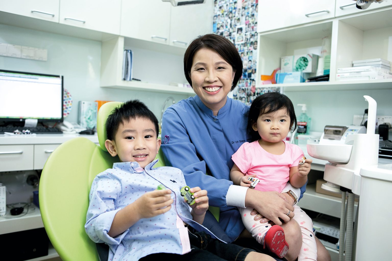 Thomson paediatric dentist Toh Siew Luan talks about dental care for little ones