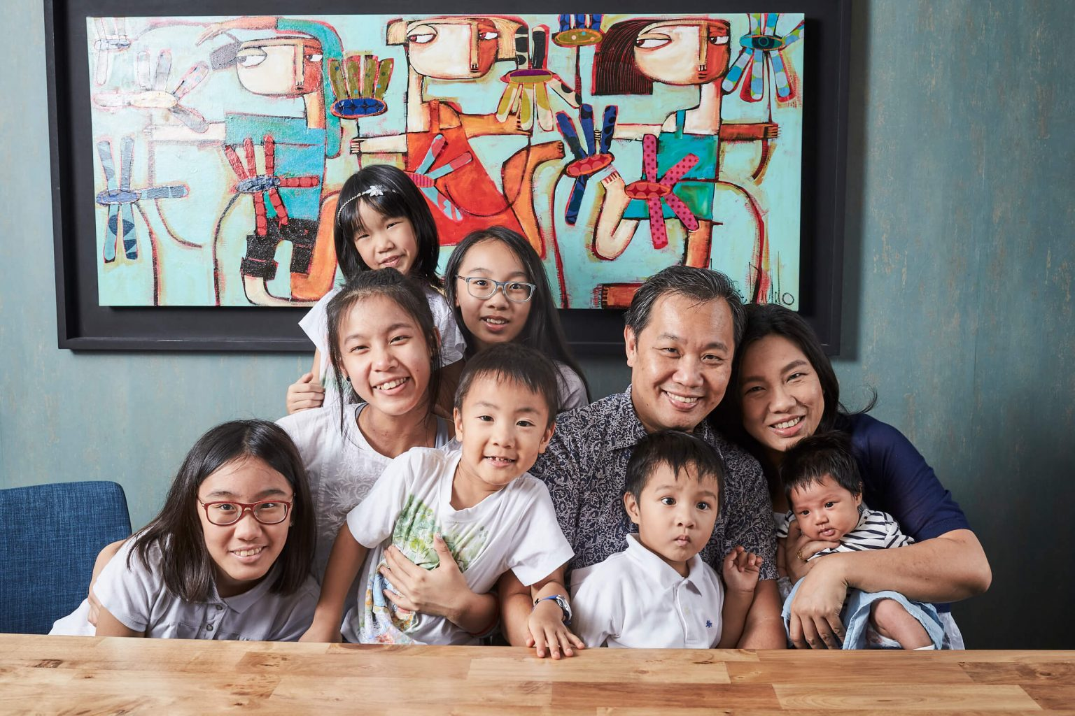 Thomson mummy shares how she raises her family of seven kids